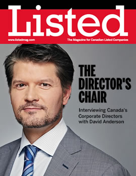 Listed Magazine: David Anderson' the Director's Chair interviews