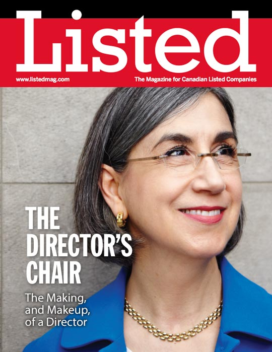 David W. Anderson interviews Hotoyan-Joly in Listed Canada's The Director's Chair